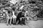WW2 London blitz, East London