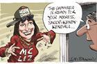 Liz Kendall rap cartoon