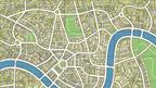 Part of London map