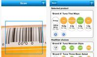 Foodswitch enables smartphone users to scan food products to find out their nutritional value before they buy them