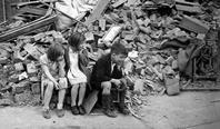 WW2 London blitz, East London