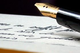 letter note writing