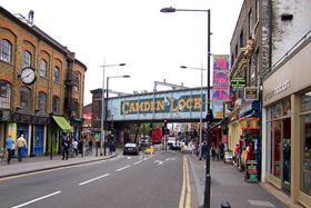 Camden Town, north London