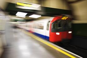 London tube train