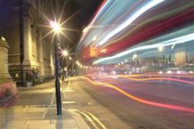 London street and night