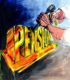 NHS pension scheme payouts cuts surplus forecast