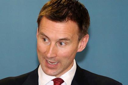 Hunt not reviewing reconfiguration plans